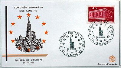 Briefmarken Frankreich & Kolonien FleißIg Co86 Conseil Von Europa Congres Erholung 1969 Rabatte Verkauf