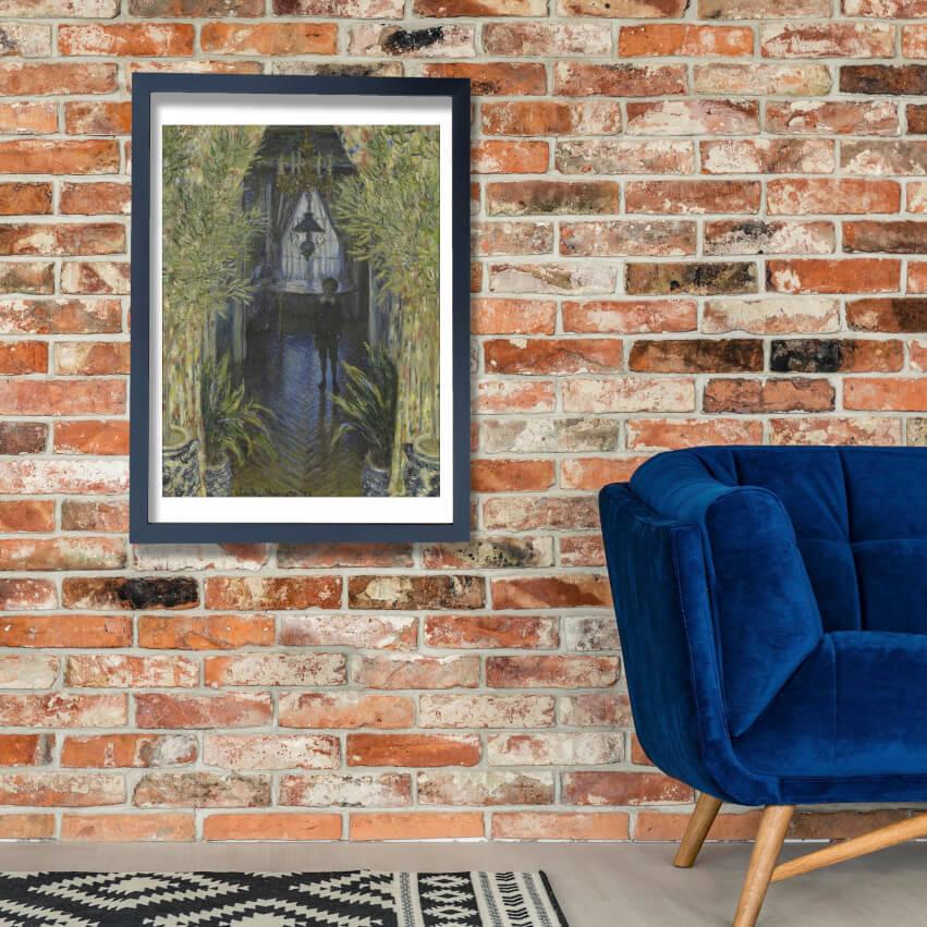 Claude Monet - A Corner of the Apartment Wall Art Poster Print