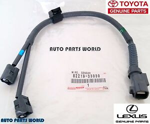 s l300 new genuine toyota lexus oem knock sensor wire harness 82219 33030 GM Knock Sensor Harness at gsmx.co