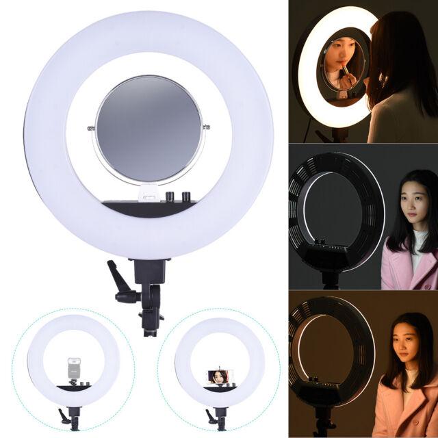 Andoer 18 Inch LED Video Ring Light Fill-in Lamp Studio Photography Z1H0