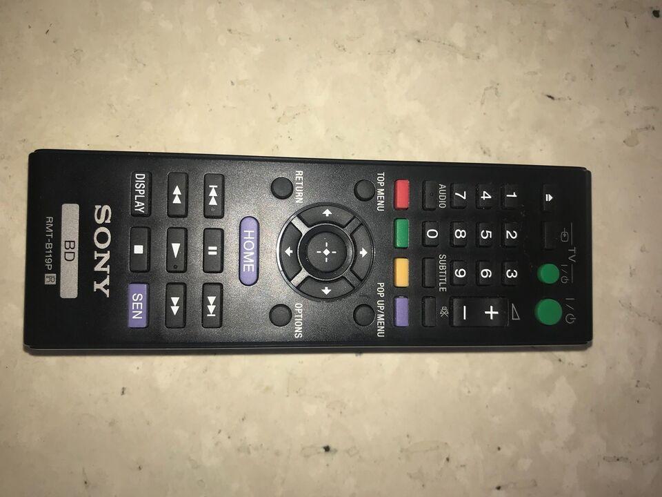 TV fjernbetjening, SONY, Perfekt
