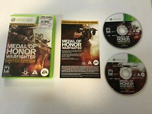 Medal-of-Honor-Warfighter-Limited-Edition-Xbox-360-GAME-CASE-amp-EXTRAS