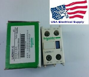 New Telemecanique Schnaider Auxiliary Contact Block LADN11