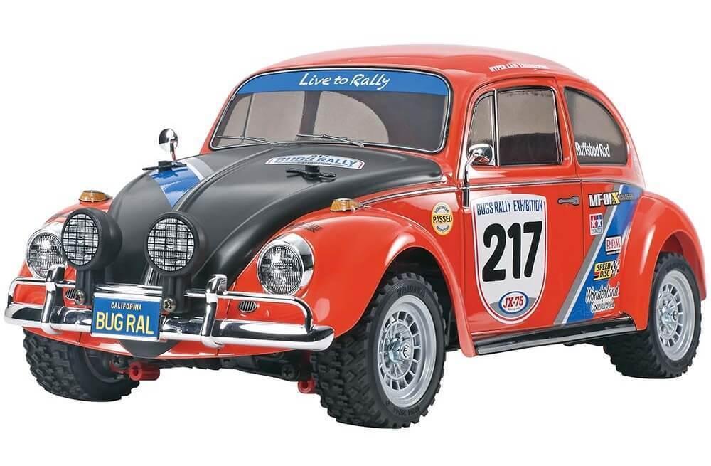 Tamiya Volkswagen Beetle Rally MF-01X RC Kit 58650 TAM58650