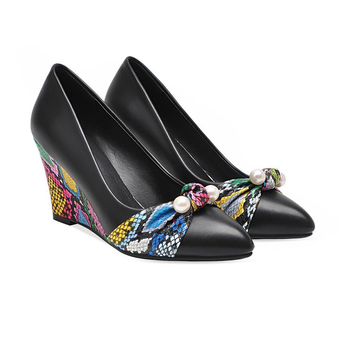 Casual bout pointue Cuir Femmes Chaussures à Enfiler Mode solide de couleur élégant Hot