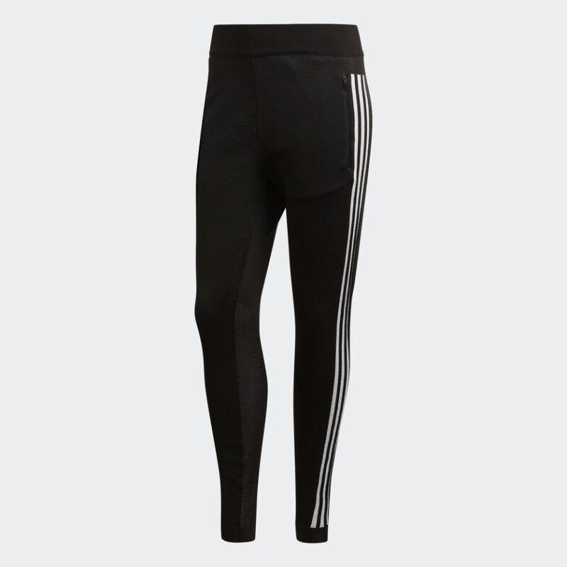 Adidas Damen Leichtathletik Identifikation Striker Hosen Neu Schwarz Weiß