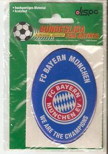 Bayern München Aufkleber ,domiert--8x5,5 Sammelauflösung 90er Jahre-kratzfest