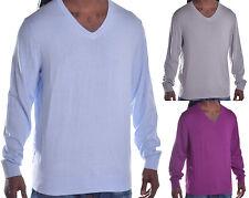 Alfani Men/'s $60 Regular Fit Casual V Neck Sweater Choose Color /& Size
