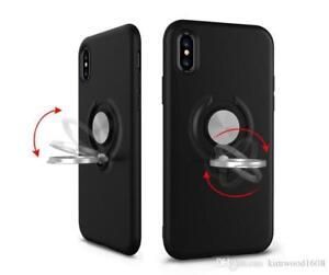 Hybride Ring Armor Case 360 Anneau Support Support magnétique Couverture pour iPhone SE/5 S/