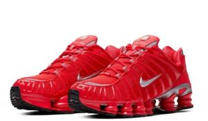 Details about Nike Shox TL Speed Red/Metallic/Silver Running Shoes  BV1127-600 Total Mens Sizes