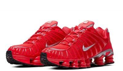 Nike Shox TL Speed Red/Metallic/Silver Running Shoes BV1127-600 Total Mens  Sizes | eBay