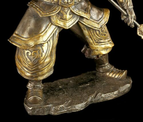 Zhang Fei Asiatischer Kämpfer Samurai Soldat Deko Chinesische Krieger Figur