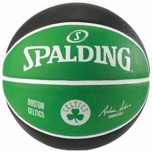 NBA-Rubber-Boston-Celtics-Basketball-Size-6-Outdoor-Ball-From-Spalding