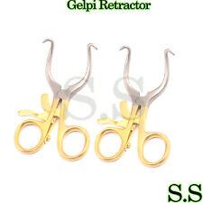 2 Premium Gold Ring Pediatric Gelpi Retractor 35 Surgical Medical Instruments