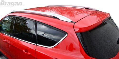 To Fit 12-16 Ford Kuga Polished Aluminium Roof Rail Rack Bars 4x4 Accessories