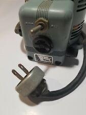 Powerstat 116 Variable Autotransformer 120v Input Tested Works Emergency Power