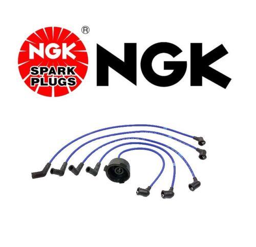 NGK High Performance Superior Resistor Spark Plug Ignition Wire Set-HE33