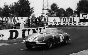 PHOTO-25X40CM-10X16-034-24H-24-HEURES-HOURS-DU-LE-MANS-FERRARI-275-GTB-28-1967