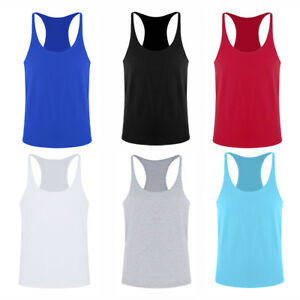 ce713e1f6023 Details about Men Muscle Bodybuilding Sleeveless Shirt Tank Top Gym Singlet  Fitness Sport Vest