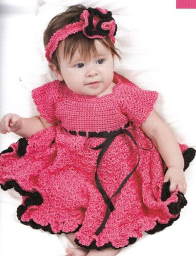 SWEET Baby Dresses in Crochet//4 Dresses//Crochet Pattern INSTRUCTIONS ONLY
