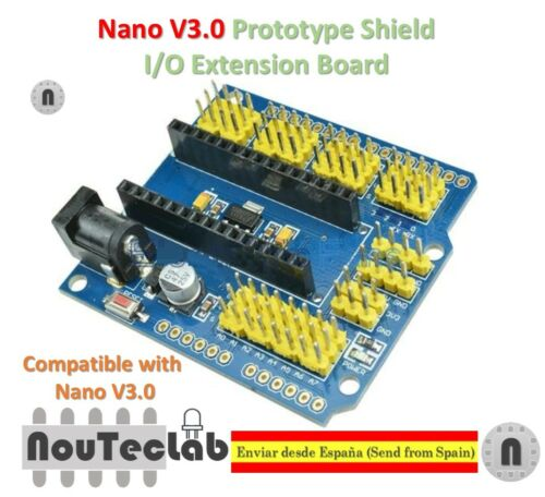 Nano V3.0 Prototype Shield I//O Extension Board Expansion for Arduino