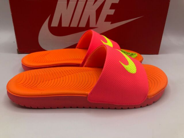 Nike Kawa Sandals Slide For Grils US Size New In Box 100/% Original