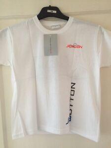 Jenson-Button-Child-039-s-T-shirt-Size-Large-8-10-Years-Brand-New-McLaren-Mercedes