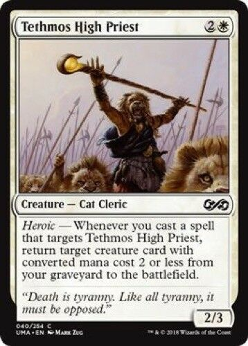 040//254 - Ultimate Masters Common 4 x Tethmos High Priest