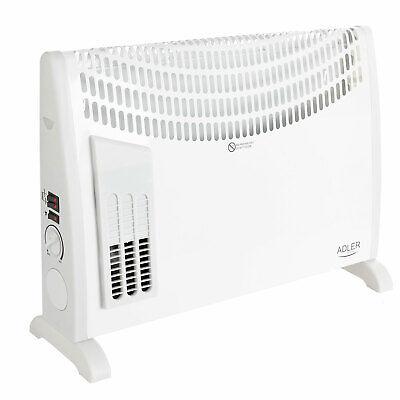 Radiador Calefactor Convector Aire Turbo Fan termostato para bajo consumo 2000W