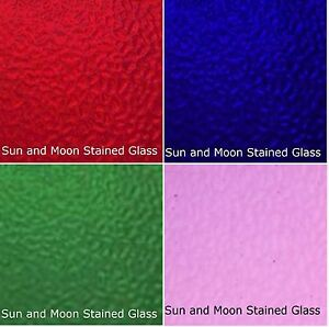 Image Is Loading Wissmach Stained Glass Sheet Pack 4 Sheets Of