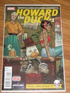 MARVEL-HOWARD-THE-DUCK-1-RARE-FIRST-APPEARANCE-OF-GWENPOOL-never-opened