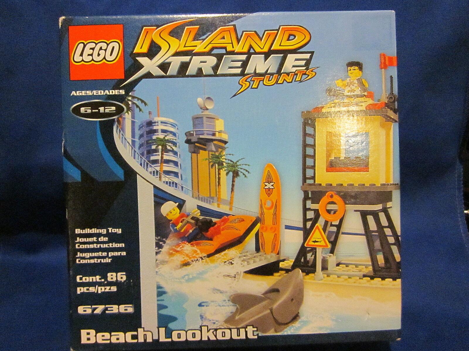 Lego 6736 Island Xtreme Stunts Beach Lookout Sealed