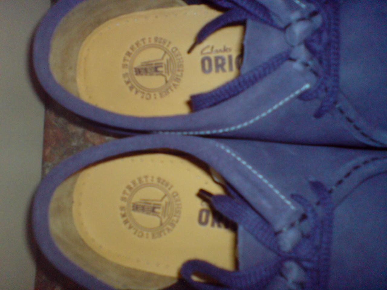 Clarks Originals Da Uomo ** WALLABEES X blu scuro scuro scuro in pelle scamosciata ** G 096329