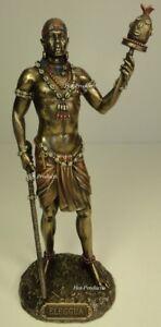 ORISHA-ELLUGUA-God-Travelers-Yoruba-African-Statue-Sculpture-Antique-Bronze-Colr
