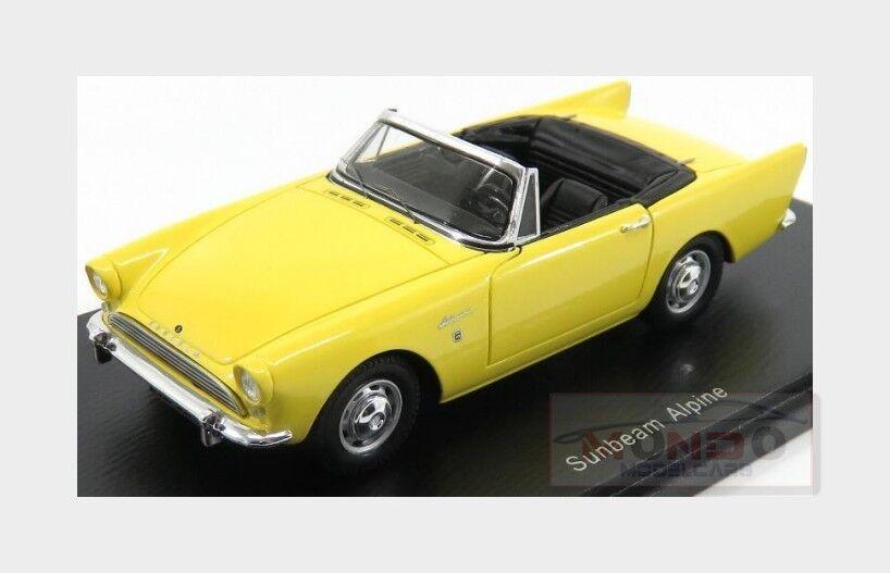 Sunbeam Alpine Spider 1964 jaune SPARK 1 1 1 43 S4945 234eb2