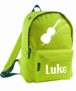 Kinder Einhorn Tasche Personalisiert Rucksack Add Name Mädchen Jungen Schule