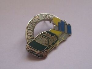 pin-039-s-Peugeot-106-verte-EGF-signe-demons-et-merveilles