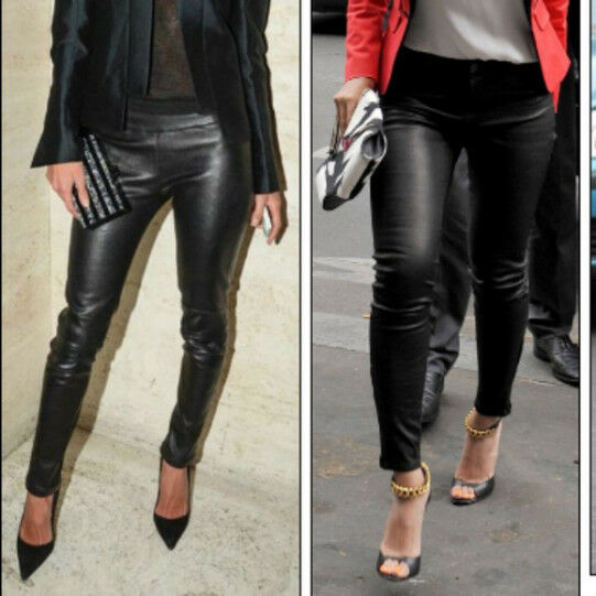 Women's J. BRAND Morgan Skinny 100% Lamb Leather Pants NWT SIZE 2