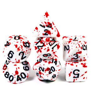 Bloody-Dice-Cool-7pcs-for-Dungeons-and-Dragons-Game