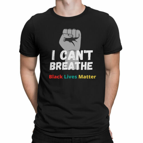 I Can/'t BreatheJustice for George Floyd TshirtMens Protest T-shirt