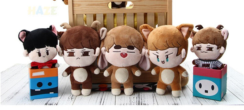 6  10  KPOP Shinee Doll Plush Soft Toy Minho Jonghyun Taemin Key Stuffed Gift