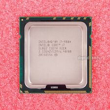 Intel Core i7-980X Extreme Edition 3.33 GHz Six Core CPU Processor SLBUZ LGA1366