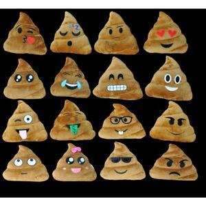 Lot De 12 Assortis Emoji Caca Oreillers 14 Coeur Yeux Argent Signe Peluche Emoticone Ebay