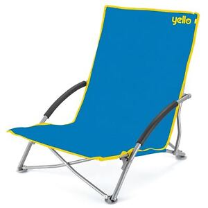 Image Is Loading Low Folding Beach Fishing Camping Deck Chair Outdoor