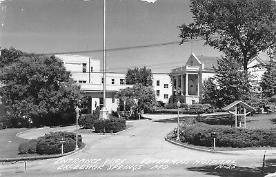 1940s Excelsior Springs Missouri Postcard McCLEARY CLINIC