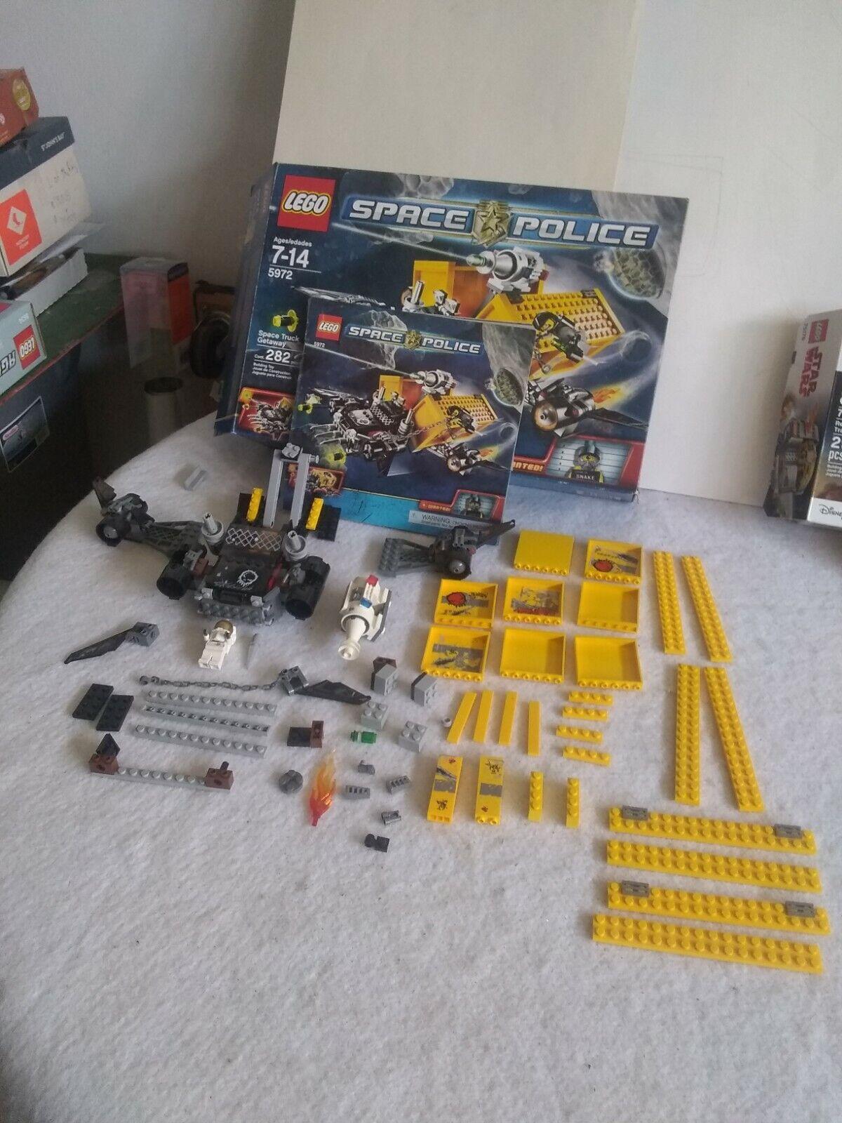 LegoSpace Police  5972 Lego Star Wars  75176 Lego  Harry Potter Bus   4866  livraison gratuite!