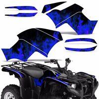 Graphic Kit Yamaha Grizzly 550/700 Atv Quad Decal Sticker Wrap 2007-2014 Ice Blu