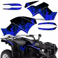 Graphic Kit Yamaha Grizzly 550/700 Atv Quad Decal Sticker Wrap 2007-2014 Ice Blu