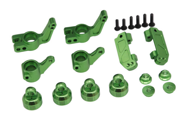 X Spede XPTE919P05 Green Suspension Beef up Set Traxxas Stampede 1/10 2wd