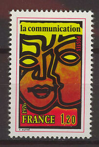 FRANCIA-FRANCE-1976-MNH-SC-1482-Comunication